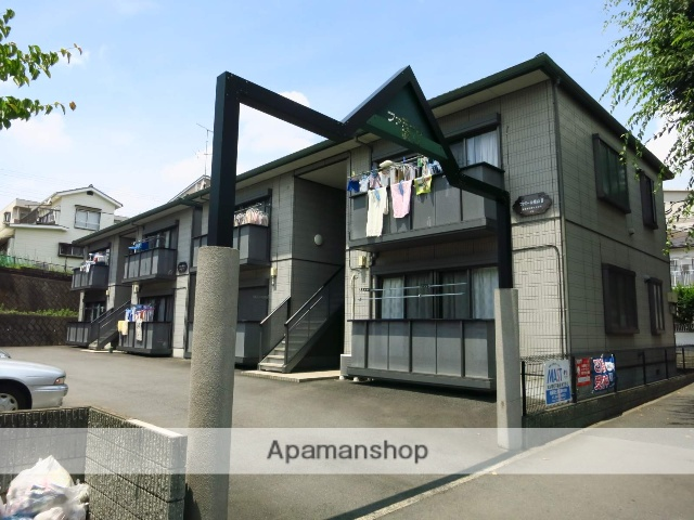 神奈川県相模原市中央区、相模原駅バス6分横山6丁目下車後徒歩1分の築15年 2階建の賃貸アパート