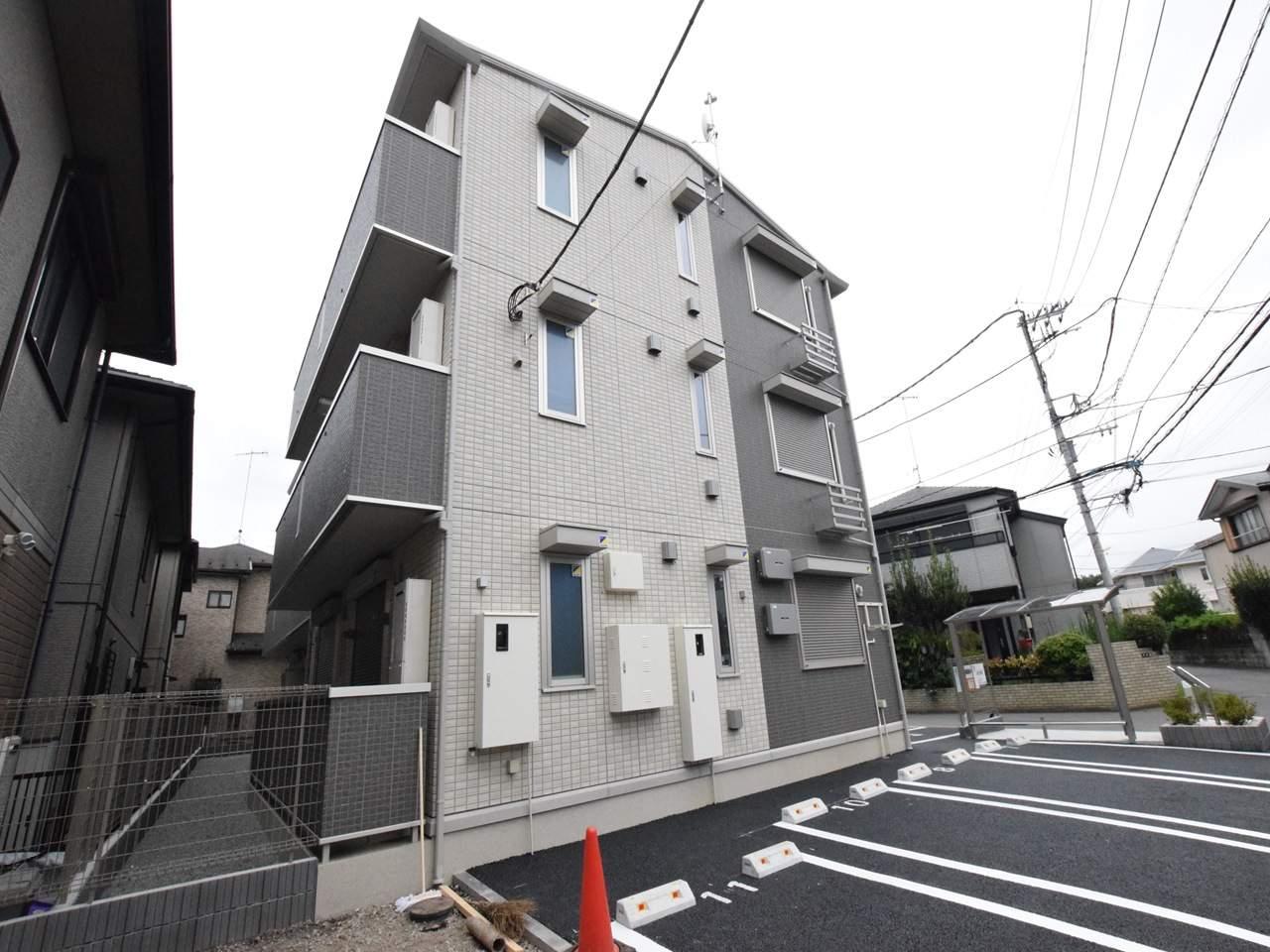 神奈川県相模原市中央区、番田駅徒歩12分の新築 3階建の賃貸アパート