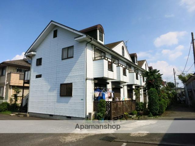 神奈川県相模原市南区、古淵駅徒歩20分の築24年 2階建の賃貸アパート