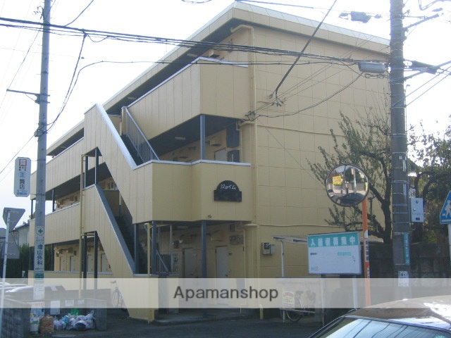 神奈川県相模原市中央区、相模原駅徒歩23分の築30年 3階建の賃貸マンション