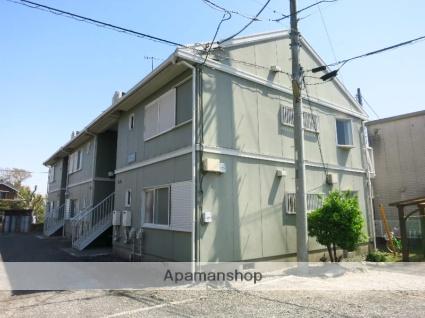 神奈川県相模原市中央区、番田駅徒歩12分の築26年 2階建の賃貸アパート