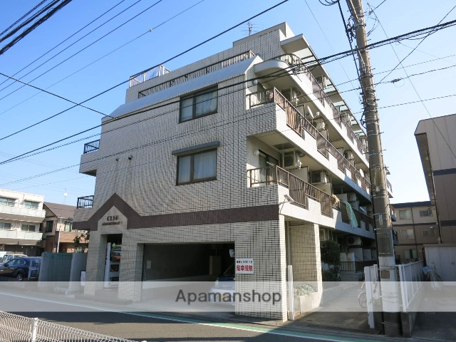 神奈川県相模原市中央区、淵野辺駅徒歩24分の築28年 4階建の賃貸マンション