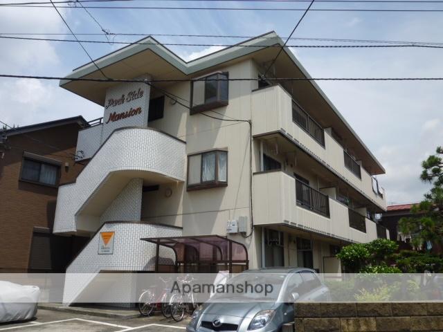 神奈川県相模原市中央区、淵野辺駅徒歩20分の築30年 3階建の賃貸マンション