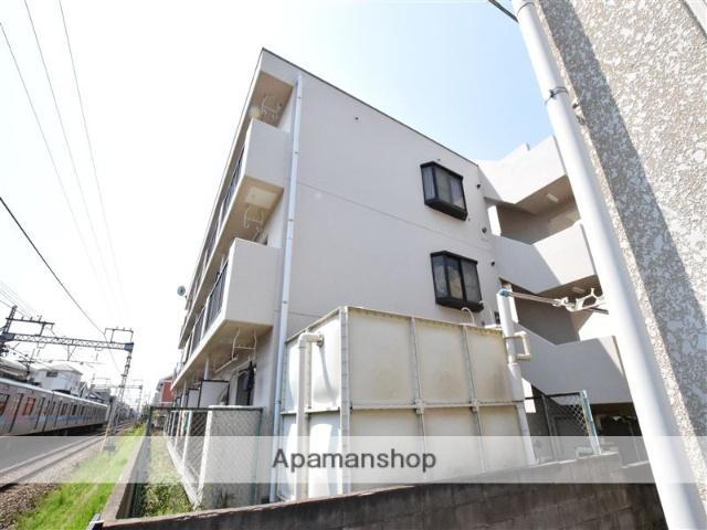 神奈川県座間市、小田急相模原駅徒歩5分の築34年 3階建の賃貸マンション