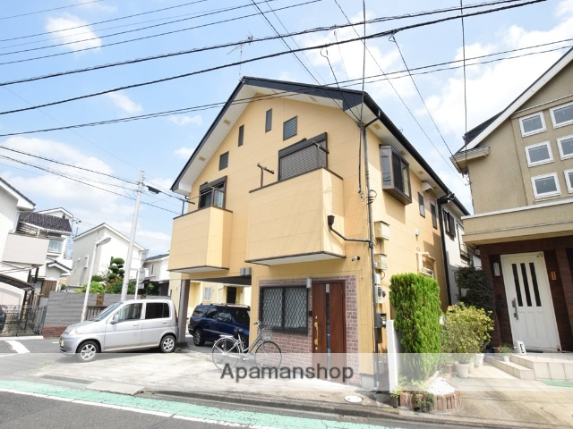 神奈川県相模原市南区、東林間駅徒歩3分の築13年 2階建の賃貸アパート