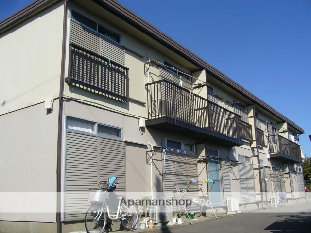 神奈川県座間市、相武台前駅徒歩15分の築32年 2階建の賃貸アパート