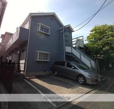 神奈川県大和市、大和駅徒歩10分の築24年 2階建の賃貸アパート