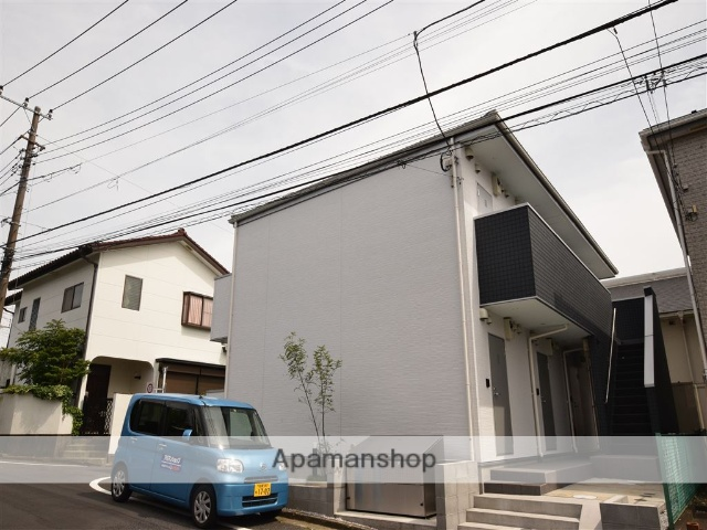 神奈川県座間市、相武台下駅徒歩23分の新築 2階建の賃貸アパート