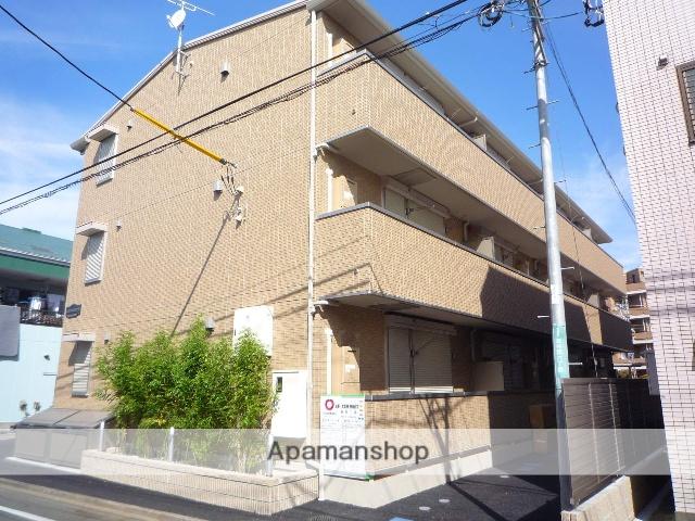 神奈川県相模原市南区、東林間駅徒歩5分の築4年 3階建の賃貸マンション