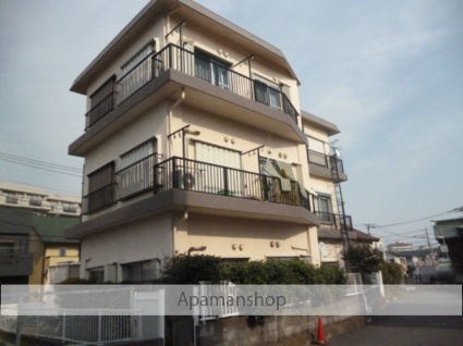 神奈川県相模原市南区、町田駅徒歩16分の築38年 3階建の賃貸マンション