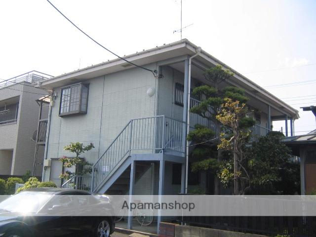 神奈川県相模原市南区、東林間駅徒歩12分の築23年 2階建の賃貸アパート