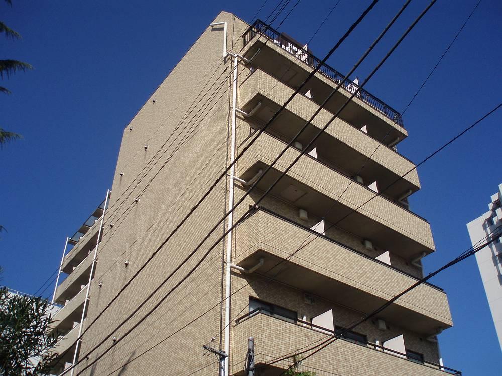 神奈川県大和市、南林間駅徒歩5分の築25年 9階建の賃貸マンション
