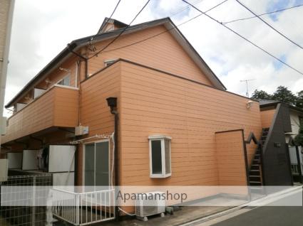 神奈川県大和市、南林間駅徒歩15分の築25年 2階建の賃貸アパート