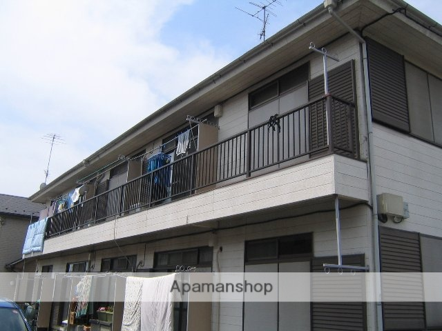 神奈川県相模原市南区、相模大野駅徒歩18分の築29年 2階建の賃貸アパート