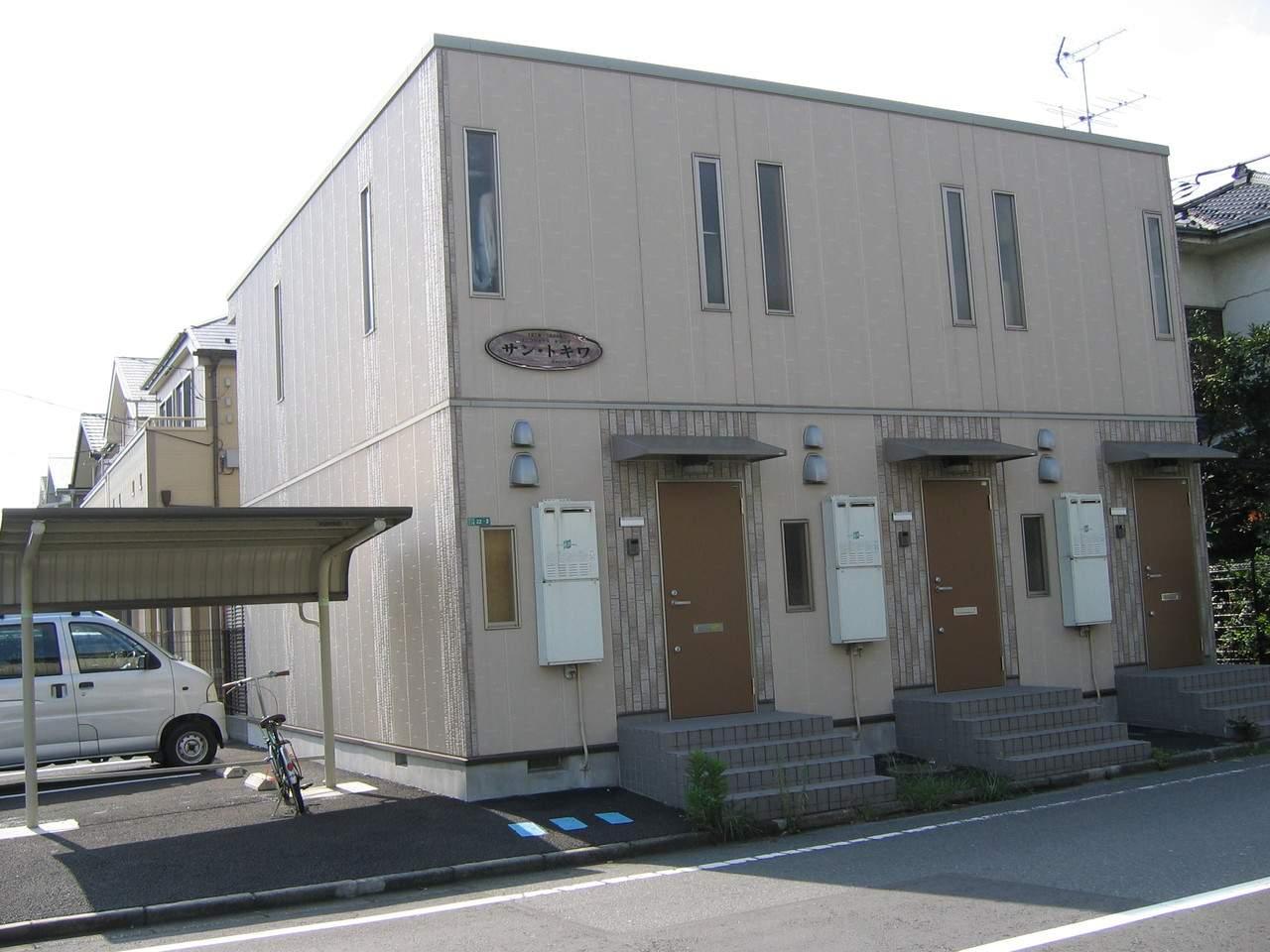 神奈川県相模原市中央区、淵野辺駅神奈中バスバス9分光が丘下車後徒歩3分の築10年 2階建の賃貸アパート
