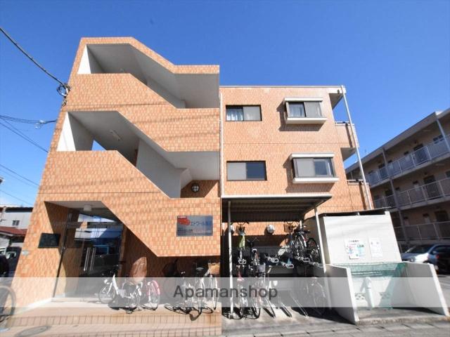 神奈川県相模原市中央区、淵野辺駅徒歩5分の築23年 3階建の賃貸マンション