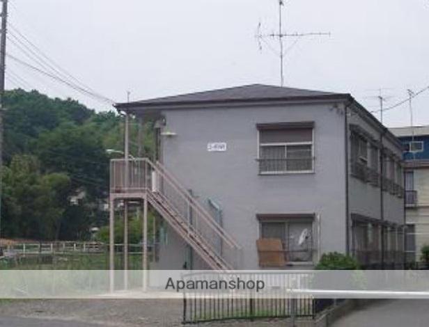 東京都町田市、町田駅バス12分ひなた村下車後徒歩1分の築41年 2階建の賃貸アパート
