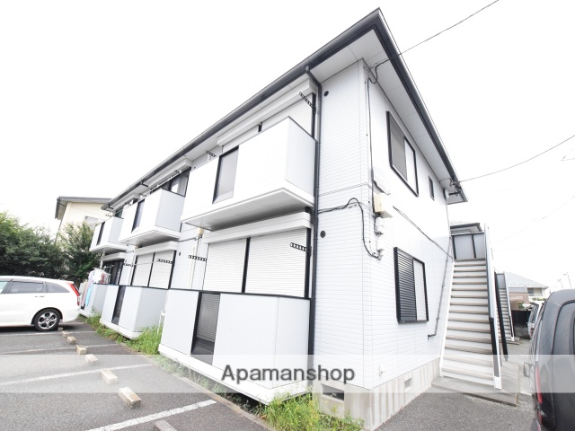 神奈川県相模原市中央区、淵野辺駅徒歩17分の築22年 2階建の賃貸アパート