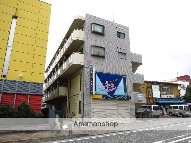神奈川県相模原市中央区、淵野辺駅徒歩6分の築27年 4階建の賃貸マンション