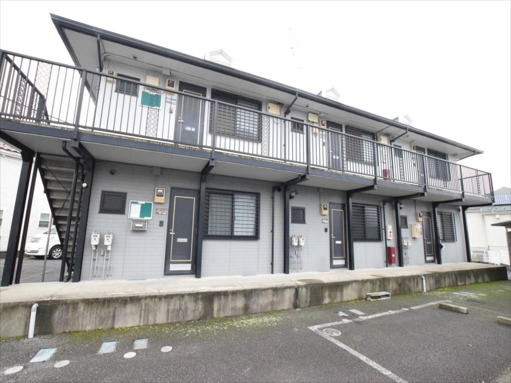 東京都町田市、古淵駅徒歩15分の築21年 2階建の賃貸アパート
