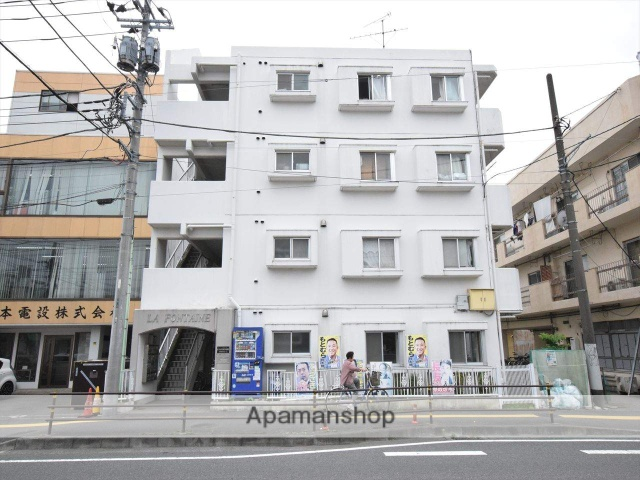 神奈川県相模原市中央区、淵野辺駅徒歩12分の築29年 5階建の賃貸マンション