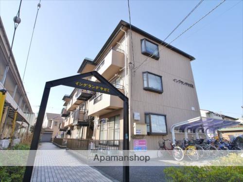 神奈川県相模原市中央区、矢部駅徒歩20分の築24年 3階建の賃貸マンション