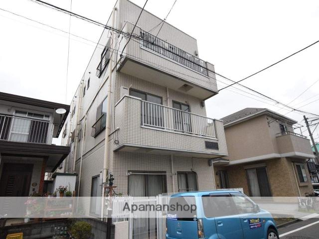 神奈川県相模原市中央区、矢部駅徒歩10分の築28年 3階建の賃貸マンション