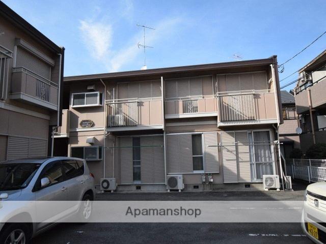 神奈川県相模原市中央区、淵野辺駅徒歩13分の築28年 2階建の賃貸アパート