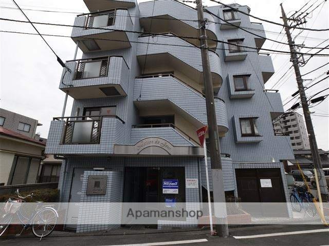 神奈川県相模原市中央区、淵野辺駅徒歩7分の築28年 5階建の賃貸マンション