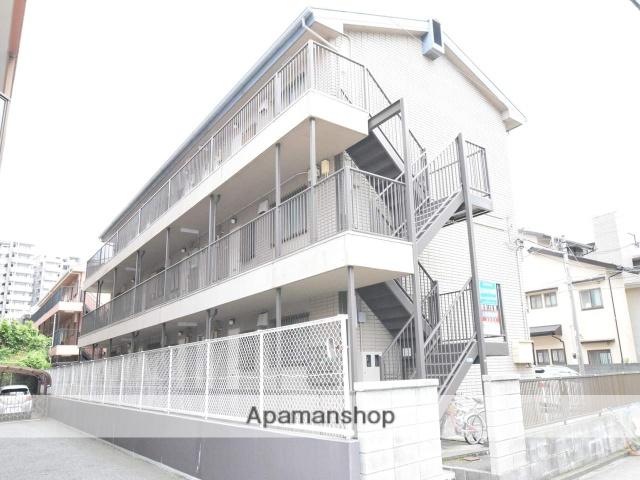神奈川県相模原市南区、古淵駅徒歩4分の築28年 3階建の賃貸マンション