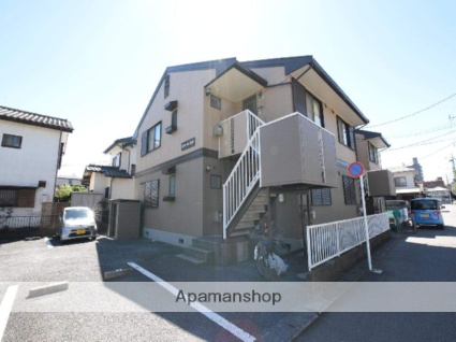 神奈川県相模原市中央区、矢部駅徒歩27分の築29年 2階建の賃貸アパート