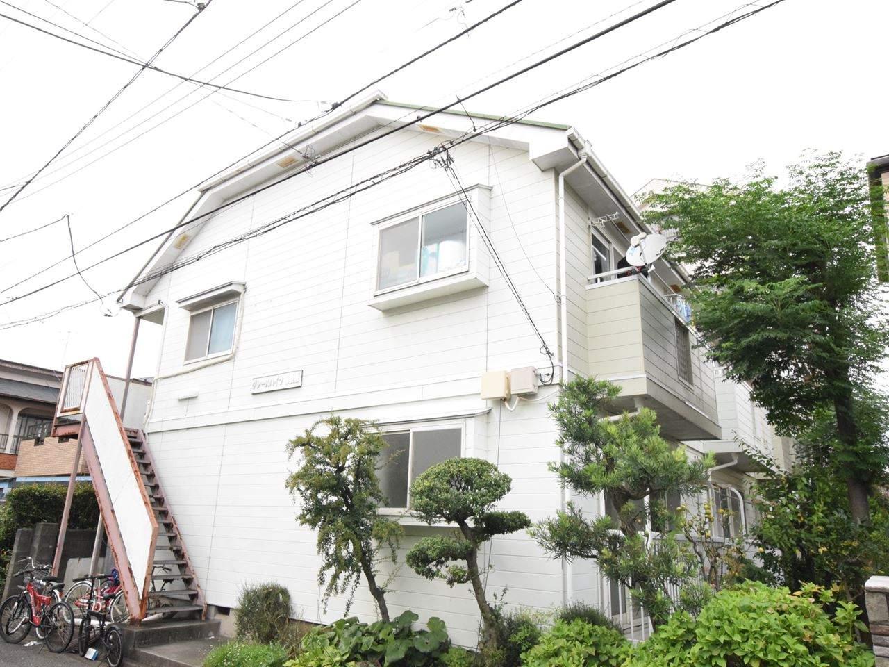 神奈川県相模原市中央区、淵野辺駅徒歩19分の築28年 2階建の賃貸アパート