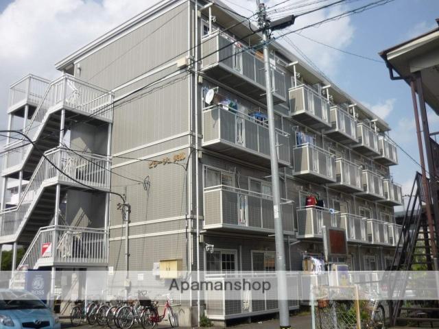 神奈川県相模原市中央区、淵野辺駅徒歩14分の築25年 4階建の賃貸マンション
