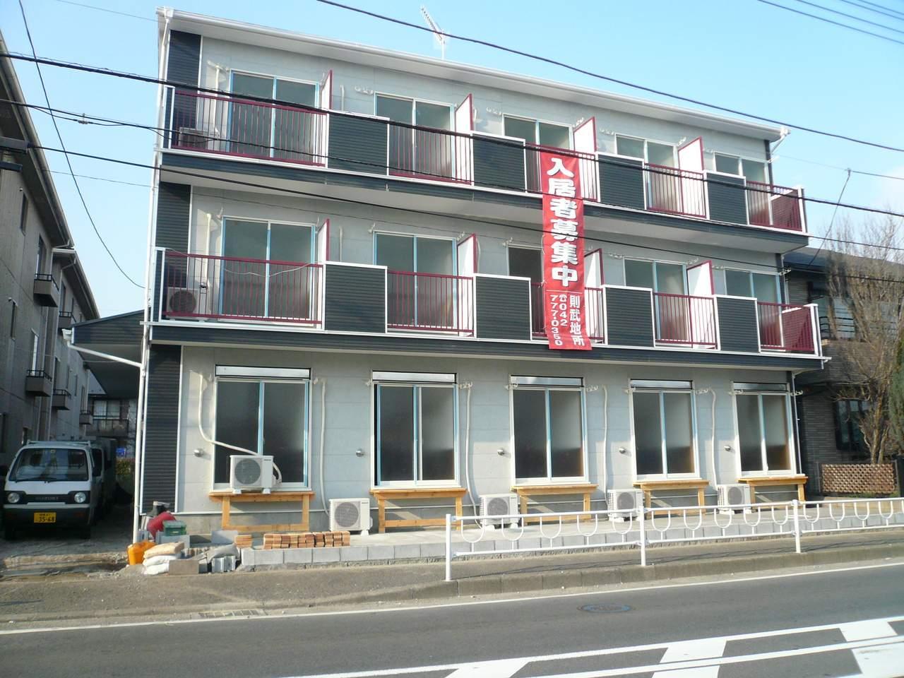 神奈川県相模原市南区、下溝駅徒歩27分の築7年 3階建の賃貸アパート