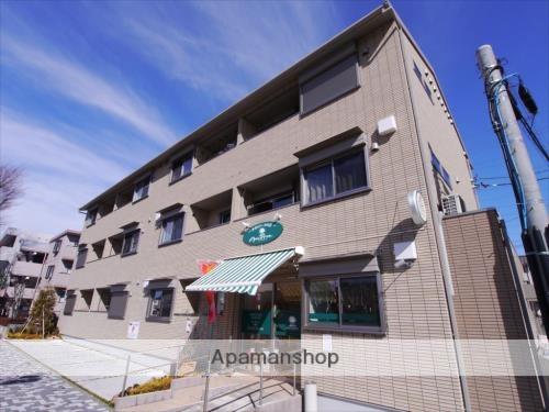 神奈川県相模原市中央区、淵野辺駅徒歩13分の築2年 3階建の賃貸アパート