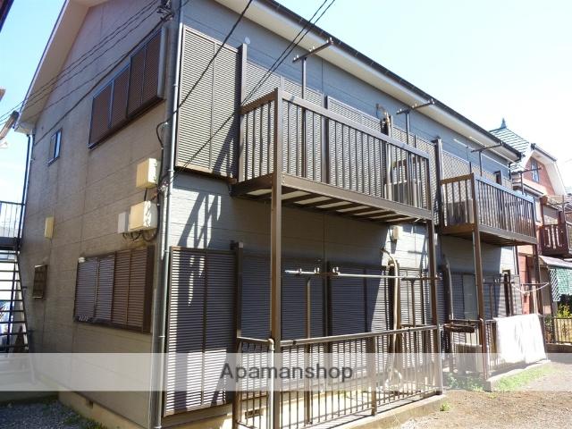 神奈川県相模原市南区、相模大野駅徒歩17分の築21年 2階建の賃貸アパート
