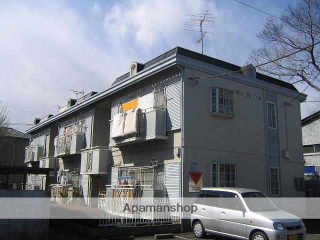 神奈川県相模原市中央区、淵野辺駅徒歩22分の築30年 2階建の賃貸アパート