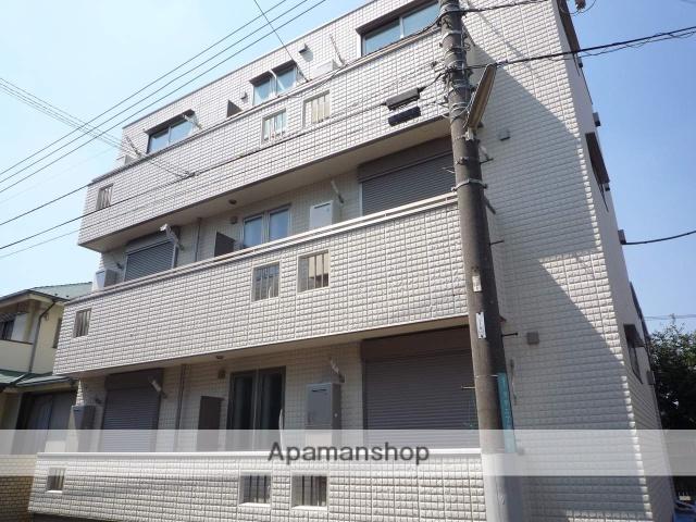 神奈川県相模原市南区、相模大野駅徒歩20分の築5年 3階建の賃貸アパート