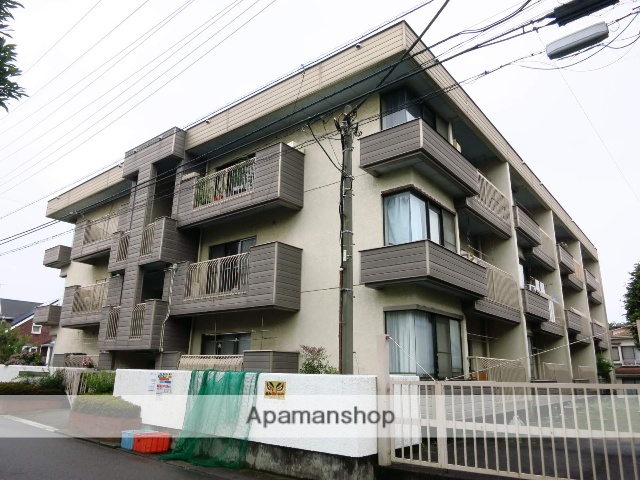 東京都町田市、淵野辺駅徒歩30分の築39年 3階建の賃貸マンション