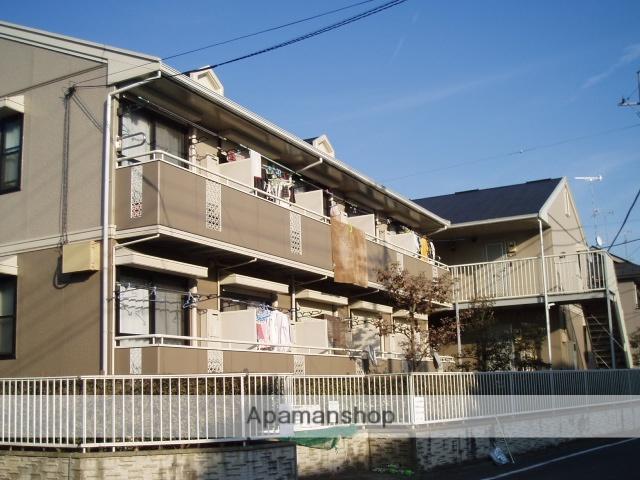 東京都町田市、町田駅徒歩14分の築22年 2階建の賃貸アパート