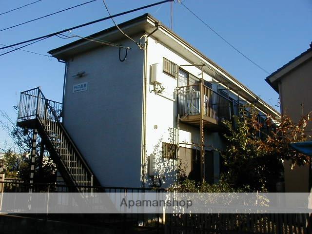 東京都町田市、古淵駅徒歩24分の築30年 2階建の賃貸アパート