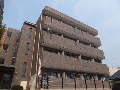 東京都町田市、古淵駅徒歩36分の築23年 4階建の賃貸マンション