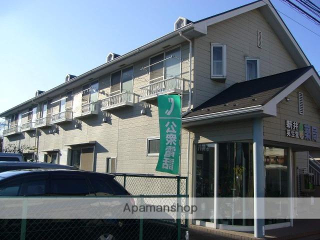 東京都町田市、玉川学園前駅徒歩30分の築26年 2階建の賃貸アパート