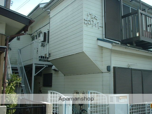 神奈川県相模原市南区、相模大野駅徒歩16分の築31年 2階建の賃貸アパート