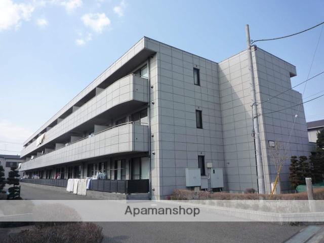 神奈川県相模原市南区、相模大野駅徒歩20分の築17年 3階建の賃貸マンション