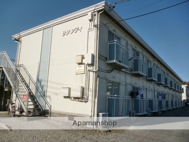 神奈川県相模原市南区、相模大野駅バス15分北里東病院下車後徒歩5分の築30年 2階建の賃貸アパート