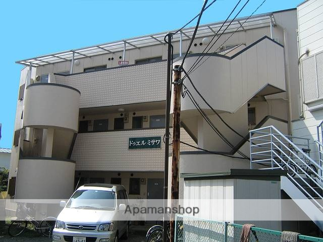 神奈川県相模原市南区、町田駅徒歩30分の築30年 3階建の賃貸マンション