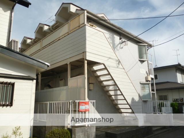 神奈川県相模原市南区、相模大野駅徒歩25分の築27年 2階建の賃貸アパート