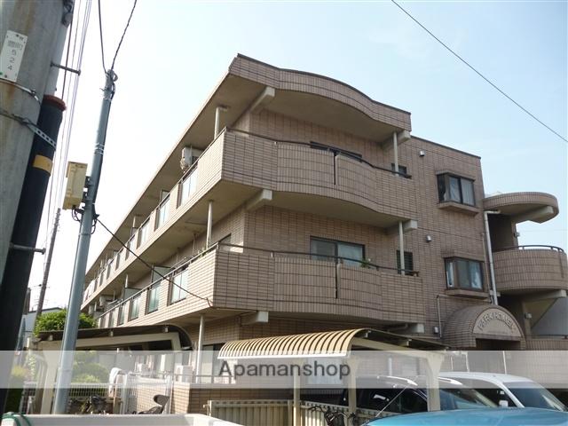 神奈川県相模原市南区、相模大野駅徒歩10分の築24年 3階建の賃貸マンション