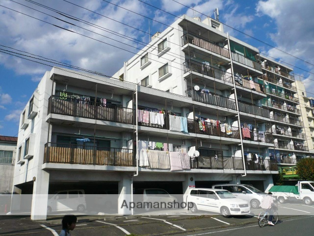 神奈川県相模原市中央区、矢部駅徒歩34分の築25年 6階建の賃貸マンション